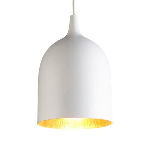 Lumi-R Ceiling Pendant White and Copper
