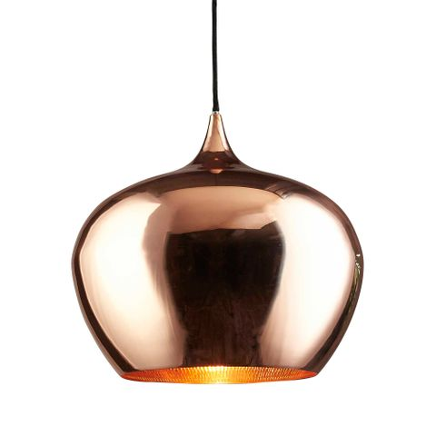 Licquer Ceiling Lamp Copper