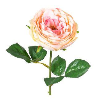Rose Spray 46cm Apricot