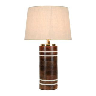 Manly Wooden Table Lamp