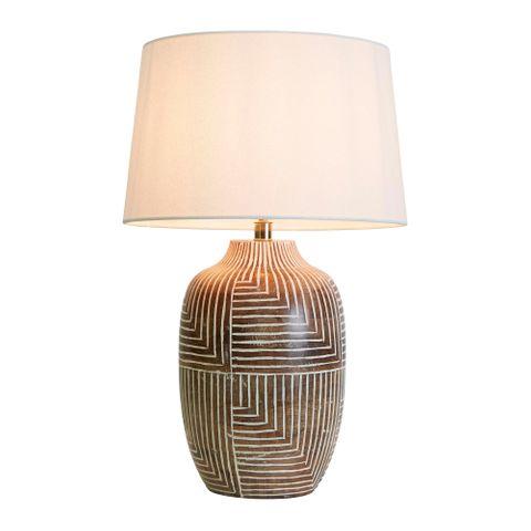 Avoca Wooden Table Lamp Base