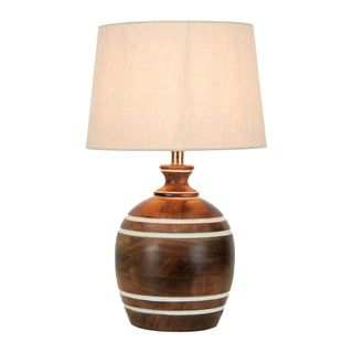 Belrose Wooden Table Lamp