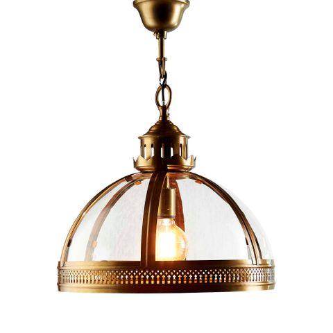 Winston Ceiling Pendant Brass
