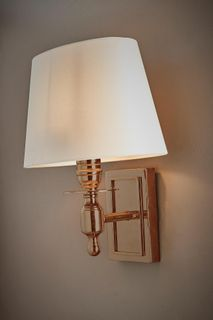 Newton Wall Light Brass