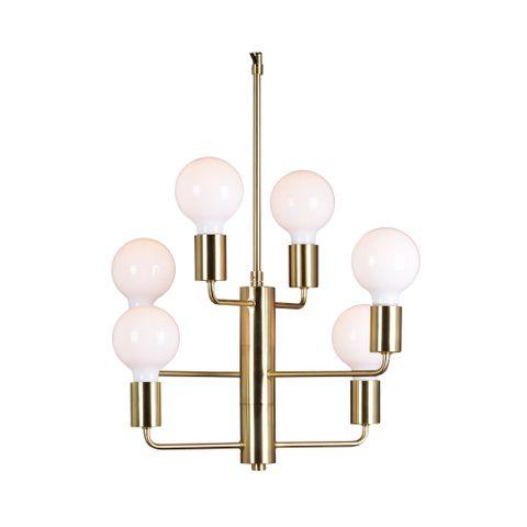 Ashley Pendant Lamp Polished Brass