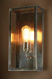 Goodman Outdoor Light Wall Light Antique Silver
