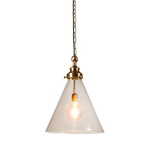 Gadsden Ceiling Pendant Medium Brass
