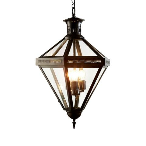 Rockefella Ceiling Light Black