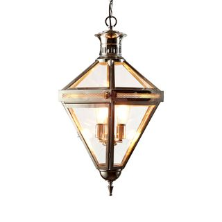 Rockefella Ceiling Light Nickel