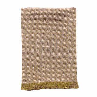 Tea Towel / Hand Towel Fringe Mustard