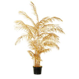 Areca Palm Potted Large Gold