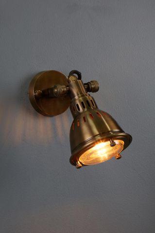 Hamburg - Brass Wall Lamp - Antique Brass