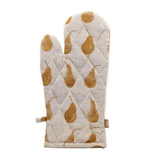 Pear Single Oven Glove Mustard
