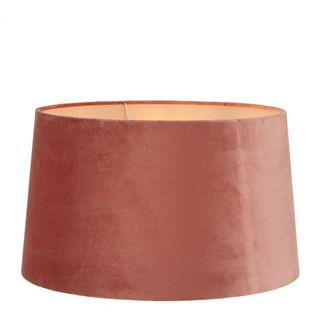 Velvet Drum Lamp Shade XL Rose Pink