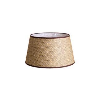Basket Weave Taper Lamp Shade XS Brown