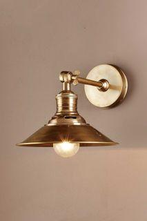 Bristol Wall Light Antique Brass