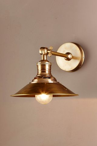 Bristol Sconce in Antique Brass