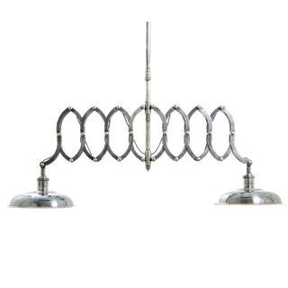 Brentwood Double Scissor Ceiling Pendant Silver