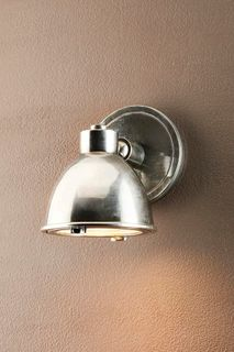 Panama Outdoor Wall Light Antique Silver