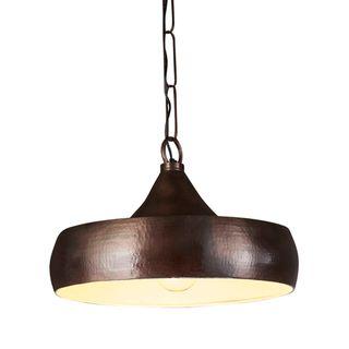 Lafayette Ceiling Pendant Dark Brass