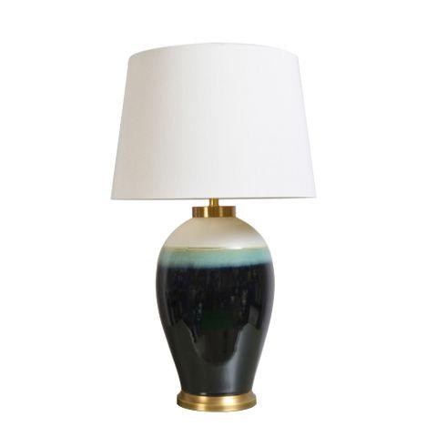 Atalya Table Lamp Base Blue