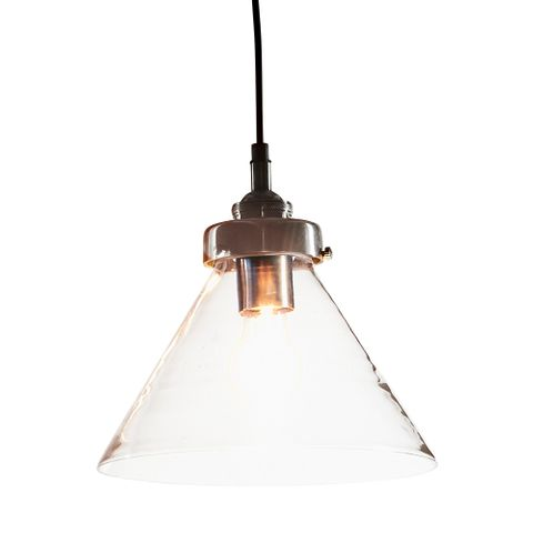 Franklin Hanging Lamp in Ant.Silver