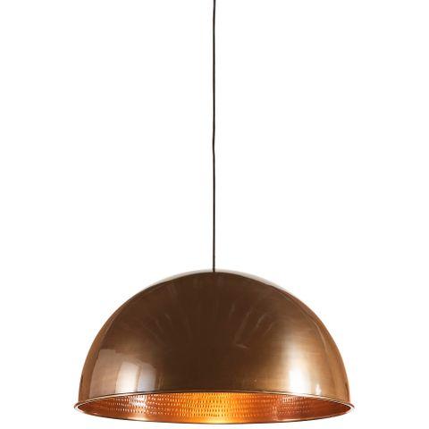 Alfresco Dome Ceiling Pendant Bronze