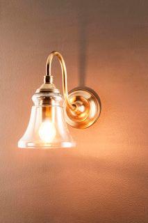 Plaza Wall Light Antique Brass