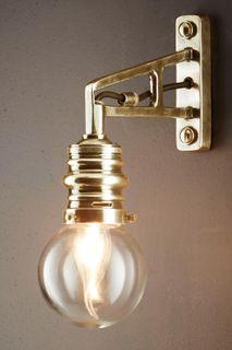 Carlton Wall Light Antique Brass