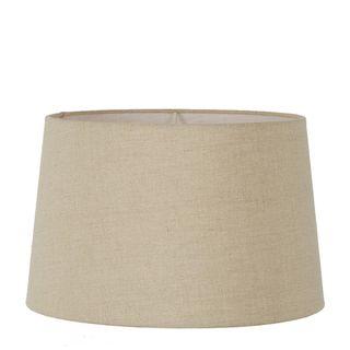 Linen Drum Lamp Shade XL Dark Natural