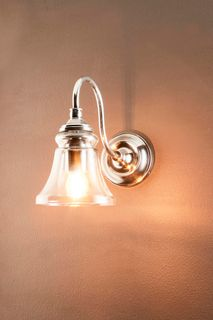 Plaza Wall Light Antique Silver