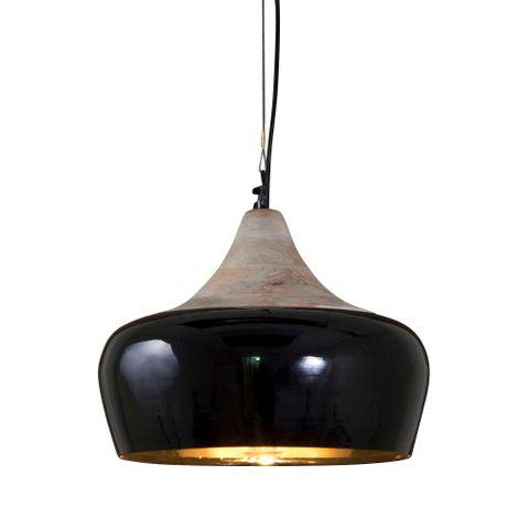 Milano Hanging Lamp in Black