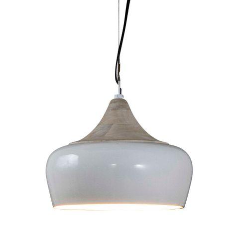 Milano Hanging Lamp in White