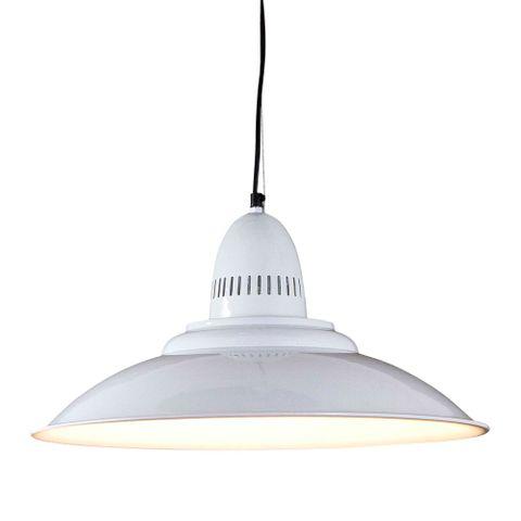 Brighton Hanging Lamp in White
