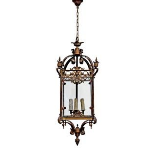 Riems Ceiling Pendant Large Brass