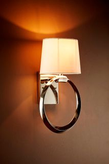 Saratoga Sconce Base Nickel