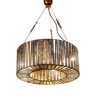 Whitney Glass Hanging Lamp