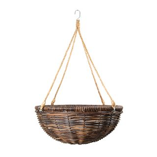 Rattan Hanging Planter Medium
