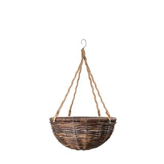 Rattan Hanging Planter Small