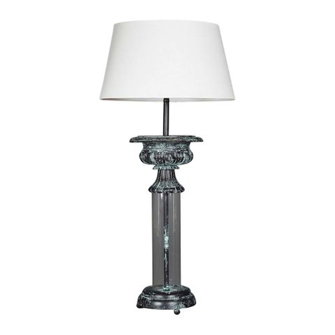 Parch Glass Table Lamp Base