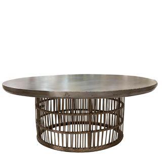 Elba Round Table W/Base