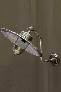 Regent Wall Lamp Antique Silver