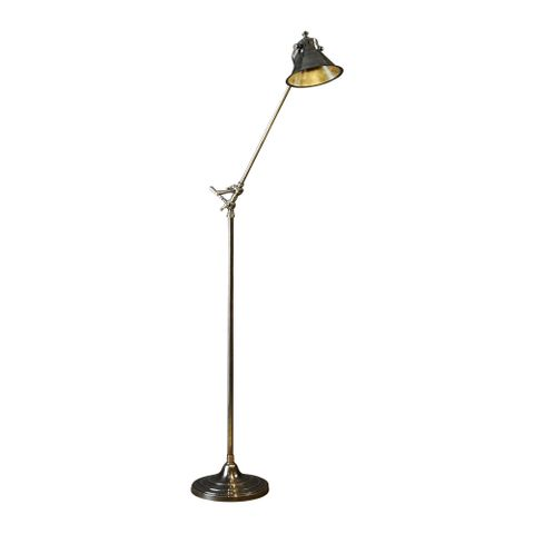 Morton Floor Lamp Antique Silver