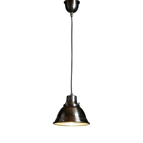 Robertson Hanging Lamp in Silver