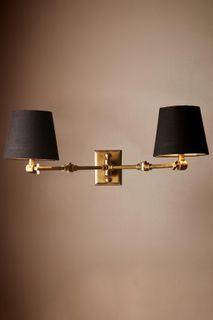 Worcester Wall Light Base Antique Brass
