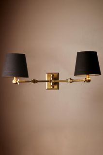 Worcester Sconce Base Antique Brass