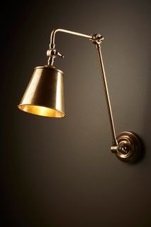 Cromwell Wall Lamp Brass