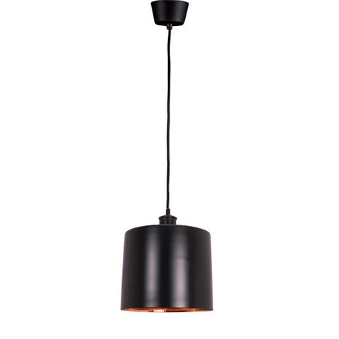 Portofino Hanging Lamp in Black Copper