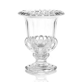 Crystal Urn Vase Lge 20x20x26