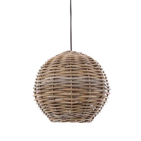 Rattan Round Hanging Pendant 30cm